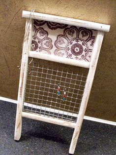 Shabby Chic Washboard Jewelry Organizer by TheBarnOwlBoutique, $16.00