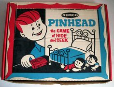 Tracy's Toys (and Some Other Stuff): The Weirdest Board Game Ever Made: Remco's Pinhead