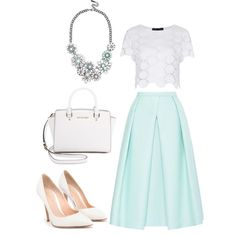 """Minty Magic"" by velvetjobs on Polyvore"