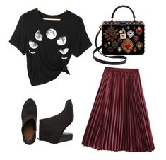 """""""Untitled #88"""" by jessieistrefi on Polyvore featuring Dolce&Gabbana and MyFaveTshirt"""