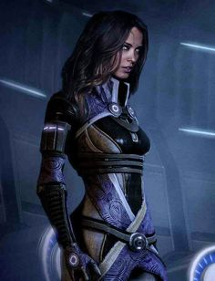 Tali's real face refrence to ME3 Shepard bedside potrait during Tali romance sequance