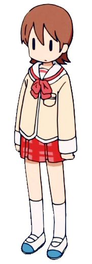 30 day anime challenge: day 13: Which anime character are you most similar too? Nichijou's Yuko. So at first I was going to pin Tomoko from Watamote, but then I realized I wasn't anti-social, and found I was energetic and a little bit of a daydreamer...like Yuko. So yeah...