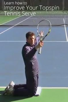 How to Improve Your Topspin Tennis Serve @Jeff Sheldon Salzenstein Online Tennis Coach