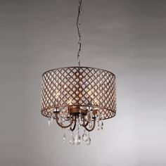 Chandeliers of chicken wire by rick tegelaar chickenwire and wire alexia antique bronze chandelier overstock shopping great deals on warehouse of tiffany chandeliers pendants mozeypictures Choice Image