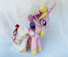 Princess Cadance Plush by Wild-Hearts on deviantART
