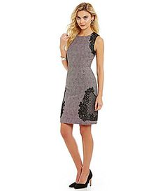 59102c1816 Antonio Melani Bailey Swirl Tweed Dress  Dillards Antonio Melani