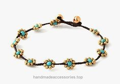 MGD, Blue Turquoise Color Bead and Brass Bell Anklet. Beautiful Handmade Brass Flower Anklet. Small Anklets. Ankle Bracelet. Fashion Jewelry for Women, Teens and Girls, JB-0247A  Check It Out Now     $12.99    Handmade Product, slightly variations in Colours, Sizes and/or Pattern are expected. Please search for more colours a ..  http://www.handmadeaccessories.top/2017/03/18/mgd-blue-turquoise-color-bead-and-brass-bell-anklet-beautiful-handmade-brass-flower-anklet-small-anklets-..