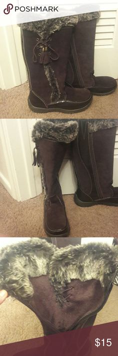 Boots Brown snow boots Shoes Winter & Rain Boots
