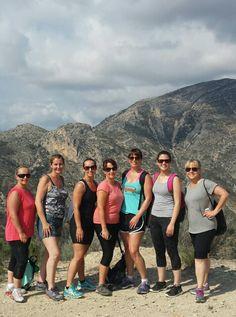 ladies on the mountain.