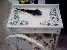 Handpainted Furniture Blog, Shabby Chic Vintage Painted Furniture: Desks