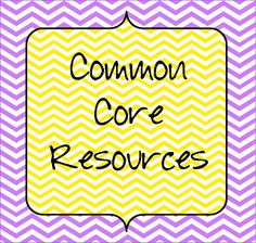 Resource list for the Common Core
