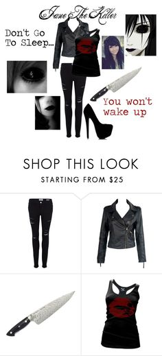 """""""Jane The Killer"""" by xxbeauty4rmpainxx ❤ liked on Polyvore featuring Frame"""