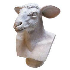 "Oly Studio Animal Bust #2 Ramsey | 22"" H $600"