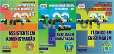 Apostilas Concurso Universidade Federal Fluminense - UFF / 2015: - Cargos: Auxiliar em Administração, Assistente em Administração e Técnico em Enfermagem