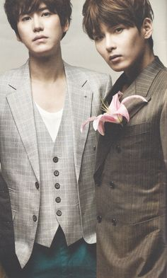 Super Junior - Kyuhyun and Ryowook Come visit kpopcity.net for the largest discount fashion store in the world!!
