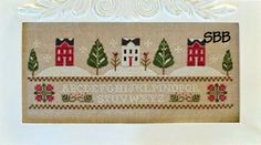 Three Snowy Hills by Little House Needleworks