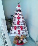 Xmas tree Greece creation handmade by soula chalkipoulou