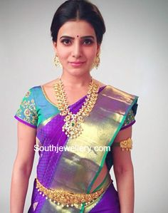 Samantha Prabhu in Pacchi Mango Mala photo