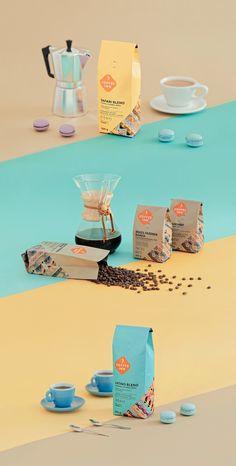 coffee branding Coffee Inn on Packaging of the World - Creative Package Design Gallery Coffee Packaging, Coffee Branding, Brand Packaging, Design Packaging, Toy Packaging, Chocolate Packaging, Bottle Packaging, Packaging Ideas, Design Café