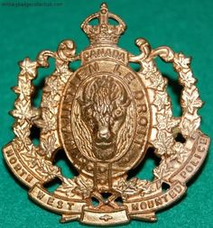 Canada's Royal Canadian Northwest Mounted Police Badge Military Insignia, Military Police, Army, Canadian Law, Canadian History, Fire Badge, Law Enforcement Badges, Police Badges, Olympic Medals