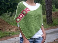 crochet ponchos cool design idea