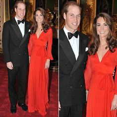 Kate in Beulah London at a charity gala.