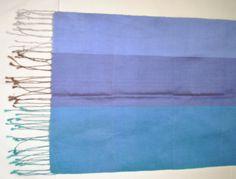 Pure silk scarf, hand-woven. # fair trade# handmade