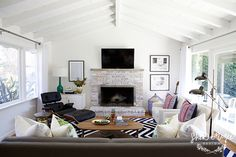 Mid-Century Beach House || Shea McGee Design
