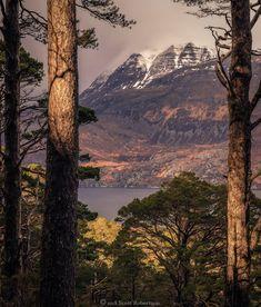 Slioch above Loch Maree in Wester Ross, Scotland