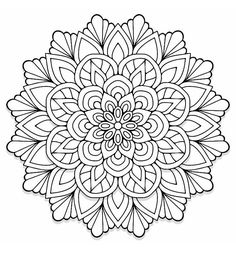 New Mandala Coloring Pages That You Will Enjoy