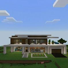 Minecraft minecraftpe gamer builder games mcpe for Casas super modernas