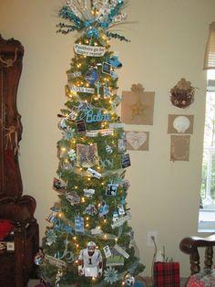 FOOTBALL FANS... Carolina PANTHERS Christmas Ornament #1 ...