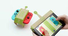 Nintendo Labo é anunciado para Nintendo Switch. #nintendoswitch