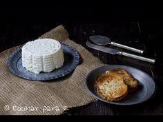 Queso fresco con Lékué | Cocinar Para 2 Queso Fresco, Pancakes, French Toast, Breakfast, Youtube, Food, Cook, Yogurt, Essen