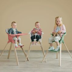 Chic4Baby Hook-on table seat flowers