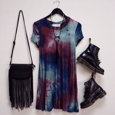 30 goth dress in the summer - Stil Mode - Man Boots Grunge Fashion, Look Fashion, Fashion Outfits, Street Fashion, Fashion Ideas, Tie Dye Fashion, Witch Fashion, Punk Outfits, Hippie Fashion