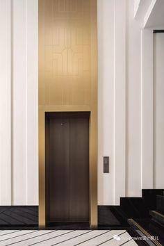 Lobby Interior, Luxury Interior, Interior Architecture, Interior Design, Elevator Lobby Design, Elevator Door, Lobby Reception, Lift Design, Hall Design