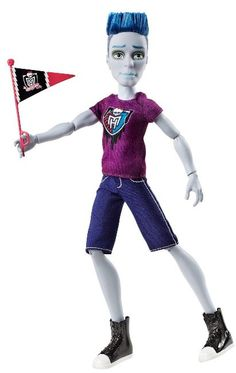 Slo Mo Monster High Boy Doll from Ghoul Spirit