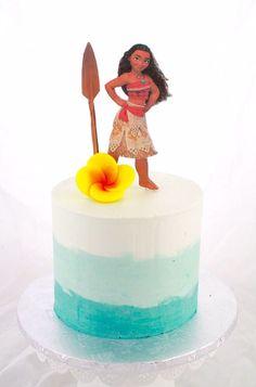 Simple Moana Cake Design by Cake Bash Studio & Bakery, Sherman Oaks