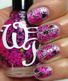 My Nail Polish Obsession: Glitter Week: Day 4, Wicked Polish