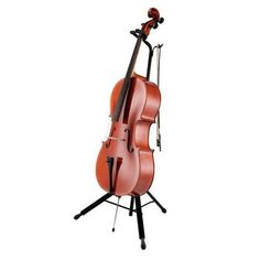 Hercules DS580B Auto Grab Cello Stand - Free shipping. Sam Ash - Serving Musicians Since 1924. #stand #cello #grab #auto #hercules