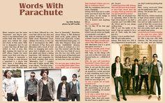 www.latfthemagazine.com  Issue#12  words with Parachute