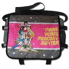Sailor Moon Messenger Bag - Mars, Venus, Mercury & Jupiter