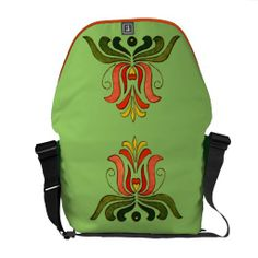 Hungarian Folk Art Courier Bags