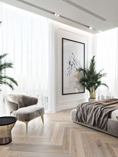 Mid-Century Bedroom Decor Tips & Tricks to Make This Bedroom Decor Last You Seasons and Seasons. Decorating a bedroom decor might be one of the biggest hardship Home Bedroom, Modern Bedroom, Bedroom Decor, Master Bedroom, Bedroom Ideas, Contemporary Bedroom, Bedroom Furniture, Bedroom Romantic, Dream Bedroom