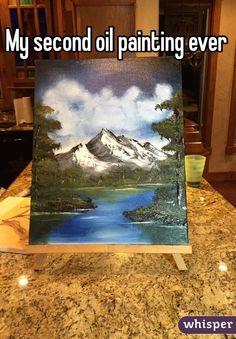 whisper painting oil second ever sh