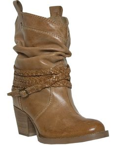 Women's Twisted Sister Boot - Tan.  Imagine with Coyote Brown or Sand colored jeans and a white button up.  CUTE!