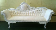 Old Hollywood Chaise