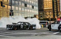 Ken Block Gymkhana 7 Wild In The Streets Of Los Angeles - Someone Gave Ken Block a Mustang And This Is What Happened Ken Block, Ford Mustang 1965, New Mustang, Long Beach, Motocross, Snowboard, Skateboard, Wild In The Streets, Automotive Art
