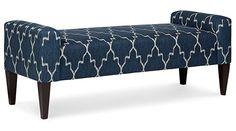 Bernhardt   Sudbury Bench (B6370)...option for end of bed~xoxo, Stash